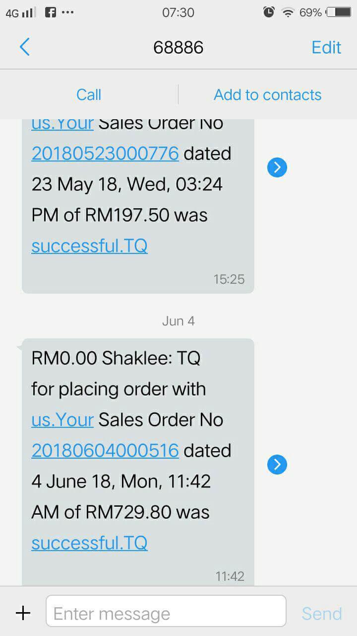 cara beli shaklee secara online