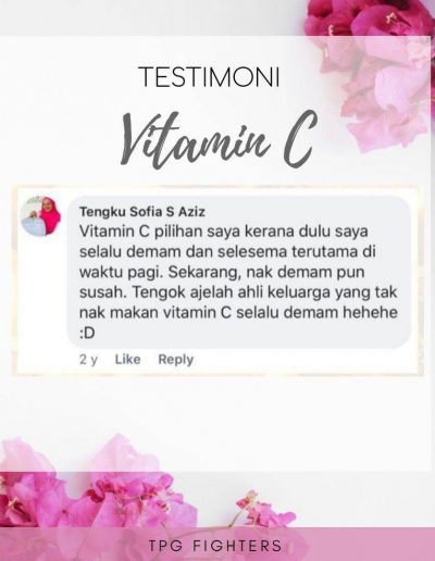 Testimonial Vitamin C Shaklee (5)